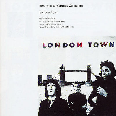 The PAUL McCARTNEY COLLECTION LONDON TOWN (Remastered CD+2 Bonus Tracks)