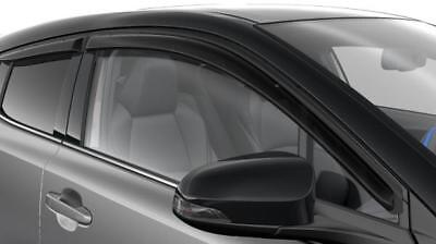 Genuine Toyota C-HR Wind Deflectors Set x4 PW162-10000 New Original Accessory