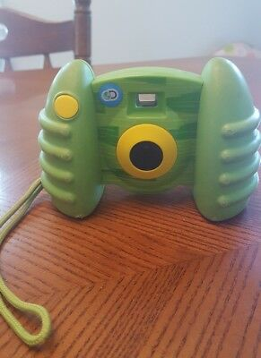 Green And Yellow Discovery Kids Kid Tough Digital Camera