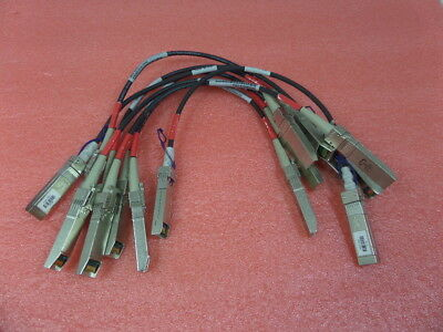 Lot of 8 OEM original genuine HP 4gb fiber channel cable 1.6 feet 509506-003