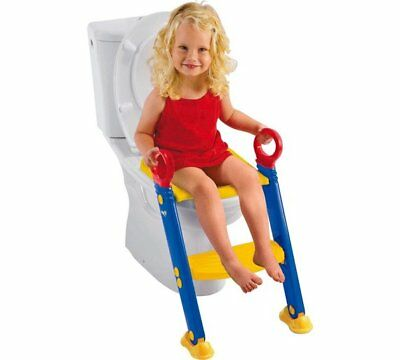 Baby Toddler Kids Safety Potty Training Toilet Step Ladder Loo Seat Trainer Xmas