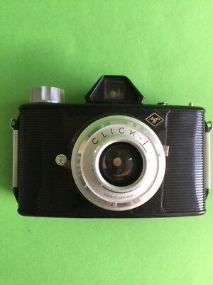 Alter Fotoapparat AGFA CLICK-I Art. Nr. 6047 made in Germany
