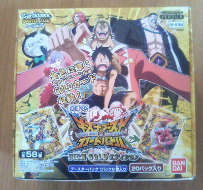 One Piece Kizuna Boost Card Battle・B4 OP-BT04 FILM GOLD BOX