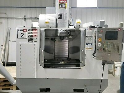 Used Haas VF-2ss CNC Vertical Machining Center Mill 30x16 12k rpm Super Speed 05