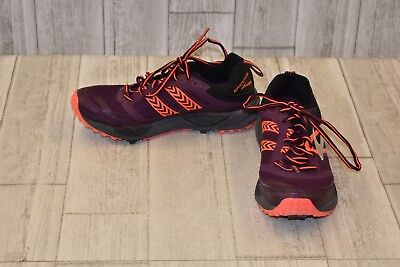00c57b17f01 Brooks Cascadia 12 Running Shoe-Women s Size 8B Pickled Beet Black Fiery  Coral