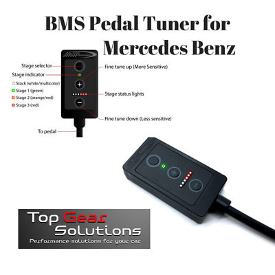 Burger Tuning BMS Pedal Tuner BETA for 2012+ Mercedes Benz