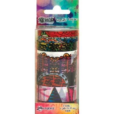 Dylusions Washi Tape - Set 5 - 7 Rolls - NEW!