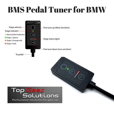 Burger Tuning BMS Pedal Tuner for 2006+ BMW 328i 335i 330i 340i 230 235i 240i