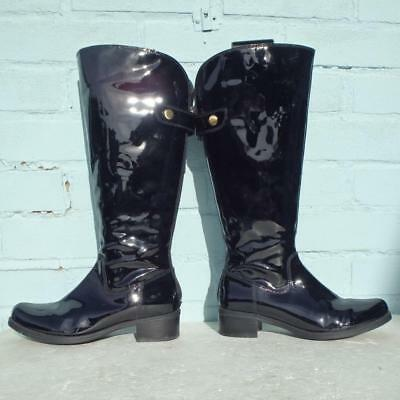 fe38a1fd50e Clarks Black Patent Leather Boots Size Uk 3 Eur 36 Sexy Womens Ladies Boots