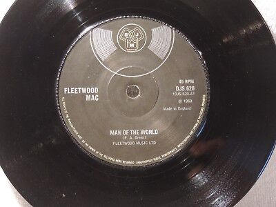 "Vinyl Single 7"" Fleetwood Mac, Man Of The World"