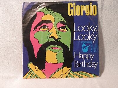 "Vinyl Single 7"" Giorgio Moroder, Looky, Looky"