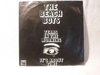 "Vinyl Single 7"" The Beach Boys, Tears In The Morning"
