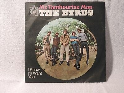 "Vinyl Single 7"" The Byrds, Mr. Tambourine Man"