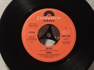 "Vinyl Single 7"" ABBA, Thank You For The Musik, Eagle"