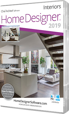 CHIEF ARCHITECT HOME Designer Interiors 2019 - USB