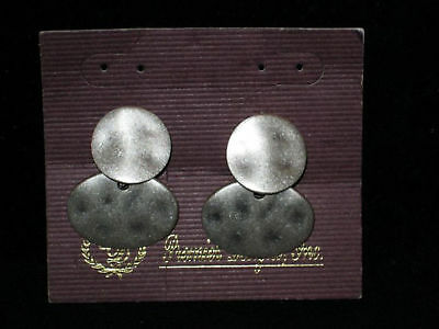 Premier Designs Patina Clip-Po Earrings - Gently Used *Combine Shipping*