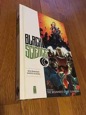 Black Science Vol 1 HC Hardcover Premier The Beginner's Guide To Entropy