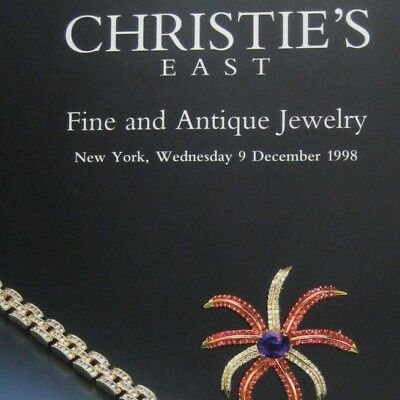 Christies Auction Catalog 1998 New York 8185 Art Deco Fine and Antique Jewelry