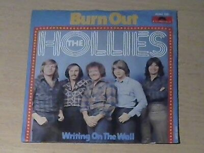 "7"" THE HOLLIES * Burn Out (MINT-)"