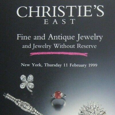 Christies Auction Catalog 1999 New York 8207 Fine Jewelry No Reserve Antique