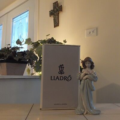 Lladro Petals Of Love # 6346 Flowers New In Box Mint Condition Fast Shipping!!!