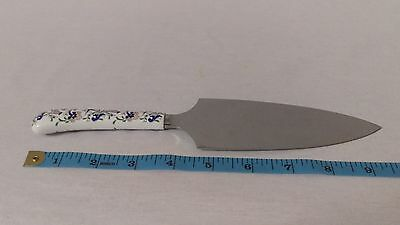 Vintage Fine Bone China Cutlass Coalport Cake Pie Server Blade England