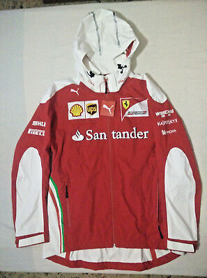 Scuderia Ferrari Puma Rain Jacket team issue - Vettel - Raikkonen - not for sale