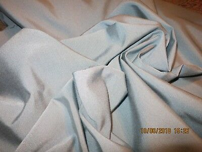 """New Arr Vgt Awesome Color  French Blue Fine Rib Faille Doll Quilt 28""""x18"""" #b79"""