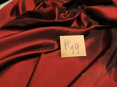 New Arr.wine Iridescent Taffeta Sturdy Fabric Easy To Work With Dolls + A79