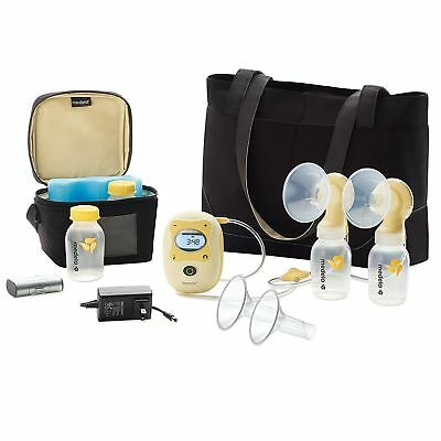 NEW Medela Freestyle Double Electric Breastpump Rechargeable Hands Free & XTRAS