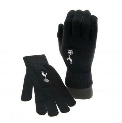 Tottenham Hotspur Fc Knitted Adult Hand Gloves Winter Season New Xmas Gift