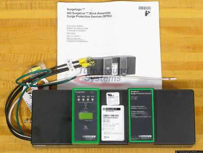 Square D SSP02BIA12PBQ1 Surge Protection For NQ Panels, 208/120, 120kA, NEW!