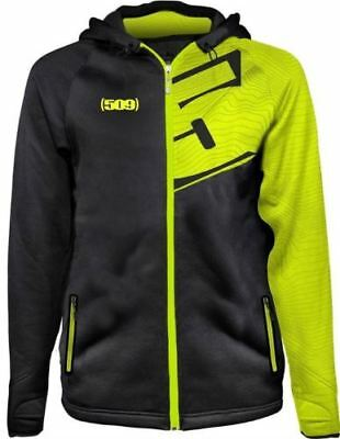 509 Tech Zip-Up Hoodie  Light Jacket  - LIME  -   Large   or   XL  - NEW