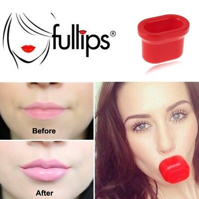3 PCS Lip Plumping Enhancer, Size: Large Round & Medium Oval & Small Oval (Red)
