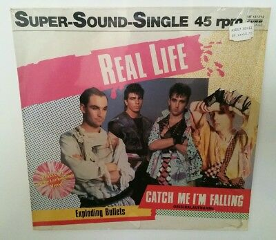 """REAL LIFE """"Catch Me I`m Falling"""" PICTURE VINYL 12"""" Super-Sound-Single"""