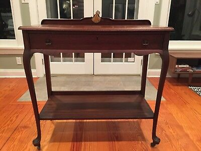 Antique Hall Side Entry Table