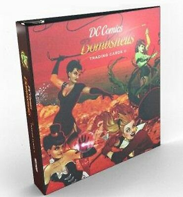 DC Bombshells Series Series 2 Binder With Complete Mini Master Set *Free S/H*