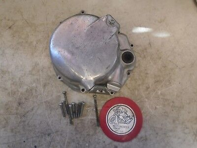 1978 Honda Cb550K Right Clutch Cover And Dipstick Assembly