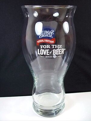 Samuel Adams Boston Lager glass For the Love of Beer 12 oz