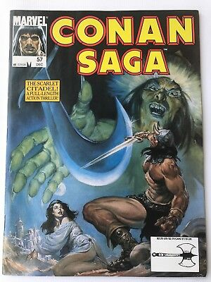 Conan Saga 1991 December No. 57 NM+