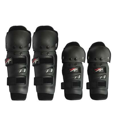4pcs Motorcycle Elbow Knee Protector Adult Racing Skating Knee Armor Safety Pads