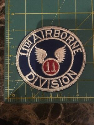 WWII US Army 11th Airborne Division Patch