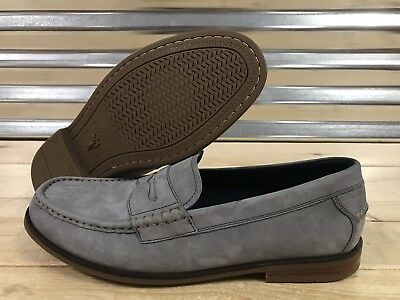 218f4ec66ca Cole Haan Pinch Friday Contemporary Loafers Gray Brown Suede Leather SZ  (C27598)