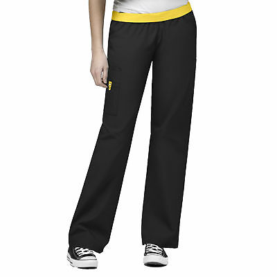 Origins Women's 5016 Cargo Scrub Pant - Black