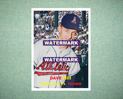 Tom Sturdivant Kansas City Athletics Custom Baseball Card 1959 Style Card That Could Have Been by MaxCards Mint Condition 2018