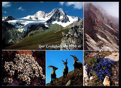 Der Grossglockner 3798M . Multiple Scenic Views . Picture Postcard <06
