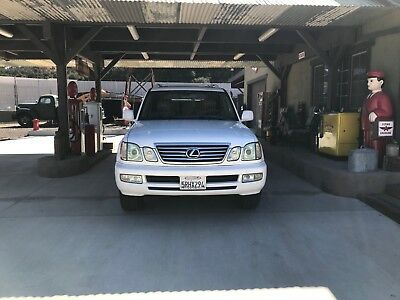 2006 Lexus LX  2006 LEXUS LX470 LOADED ONE OWNER CALIFORNIA CAR VERY CLEAN AND WELL MAINTAINED