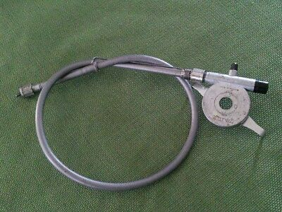 NOS Vintage Motobecane Moped Huret Speedometer Cable with pickup NICE!!!