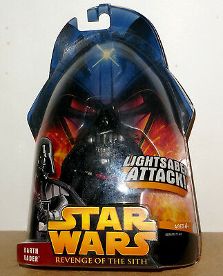 STAR WARS REVENGE OF THE SITH, DARTH VADER. 4 in. Action figure. Very good cond.