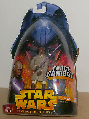STAR WARS REVENGE OF THE SITH, MACE WINDU. 4 in. Action figure. Very good cond.